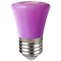 Bec LED color Hoff mini E27 1.5W lumina violet
