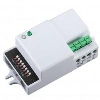 Senzor prezenta microunde, alb, 180 / 360 Hepol