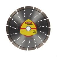 Disc diamantat, cu segmente, pentru debitare beton armat, Klingspor DT 900 B Special, 230 x 22.23 x 2.6 mm