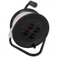 Derulator cablu electric N-96317 PD-4CP, 4 prize, 25 m, 3 x 1.5 mmp