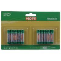 Baterie Hoff, AAA / LR603, alcalina, 10 buc