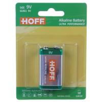 Baterie Hoff, 6LR61 / 9V, alcalina