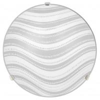 Plafoniera Dune LY-6076, 2 x E27, 400 mm, alba