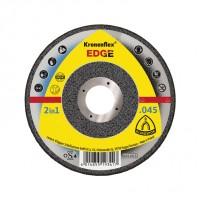 Disc debitare inox/otel, Klingspor Kronenflex Edge 2 in 1, 125 x 22.23 x 1.2 mm