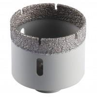 Carota diamantata, pentru placi ceramice, Klingspor DK 600 F, 70 mm