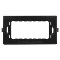 Suport Hoff, 4 module, 135 x 69 x 13 mm, pentru rama priza / intrerupator