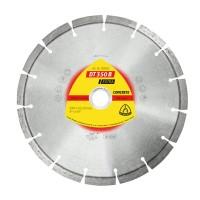 Disc diamantat segmentat, pentru taiere beton, Klingspor DT 350 B Extra, 230 x 22.23 x 2.6 mm