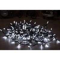 Instalatie brad Craciun, 240 LED-uri albe cu lumina rece, 23.9 m, interior / exterior