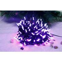 Instalatie brad Craciun, 240 LED-uri violet, 23.9 m, interior / exterior
