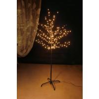 Copac decoratiune 192 microLED-uri cu lumina calda, 150 cm, alimentare priza