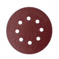 Disc abraziv cu autofixare, pentru lemn / metal / glet, Lumytools LT08556, 125 mm, granulatie 60, set 10 bucati