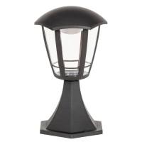 Stalp exterior LED Sorento 8127, 8W, 29.3 cm, negru