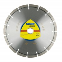 Disc diamantat, cu segmente, pentru debitare granit, Klingspor DT 600 GU Supra, 230 x 22.23 x 2.6 mm