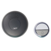 Sonerie fara fir Comfort 094253, 15 melodii, 100 m, 75 dB, IP44, antracit