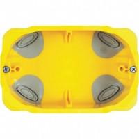 Doza gips carton Bticino PB503N, incastrata, modulara, 3 module, 110 x 71 x 52 mm