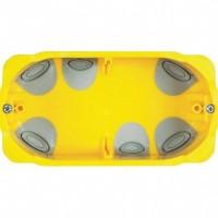 Doza gips carton Bticino PB504N, incastrata, modulara, 4 module, 132.5 x 71 x 52 mm