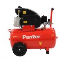 Compresor aer cu piston, cu ulei, Panzer FL20-50, 1.5 Kw, 2 CP, 50 litri