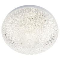 Plafoniera LED Kuna 05-847, 12W, D 20 cm, efect de cristal