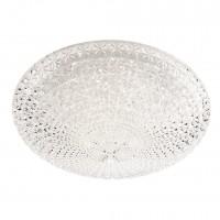 Plafoniera LED Kuna 05-849, 24W, D 40 cm, efect de cristal