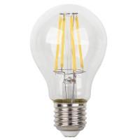 Bec LED filament Hoff clasic A60 E27 8W 900lm lumina calda 2700 K