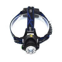 Lanterna LED frontala Well Freedom, cu acumulator, 10W, 800 lm, 3 moduri de iluminare, zoom