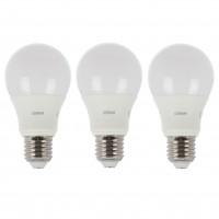 Bec LED Osram clasic A60 E27 8.5W 806lm lumina calda 2700 K - 3 buc