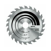 Disc circular, pentru lemn, Bosch Optiline Wood, 608640596, 160 x 20/16 x 2.6 mm