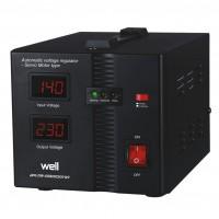 Stabilizator de tensiune cu servomotor Well Secure 500VA / 300W