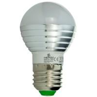 Bec LED color Hepol mini E27 3W lumina RGB + telecomanda, dimabil