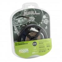 Kit banda LED dublu adeziva Arelux Xfill 24V 6W/m lumina neutra 3 m IP20