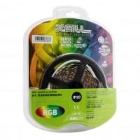 Kit banda LED dublu adeziva Arelux Xfill 24V 14.4W/m RGB 3 m IP20