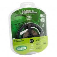 Kit banda LED dublu adeziva Arelux Xfill 24V 6W/m lumina verde 3 m IP20