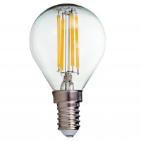 Bec LED filament Hepol mini E14 4W 560lm lumina neutra 4000 K