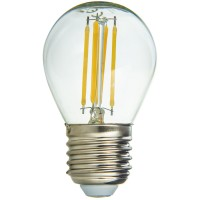 Bec LED filament Hepol mini E27 4W 560lm lumina neutra 4000 K