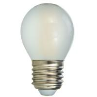 Bec LED filament Hepol mini E27 4W 490lm lumina neutra 4000 K, mat