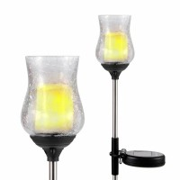 Lampa solara LED palpaitor Hoff, tulip, 76 cm
