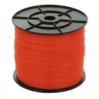 Banda gard electric portocalie 20 mm, 200 m