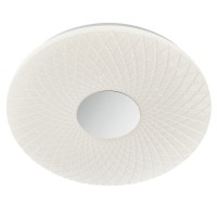 Plafoniera LED Flora 05-857, 32W, alb cu efect de sclipire