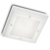 Plafoniera LED Quadrant 05-859, 15W, alba
