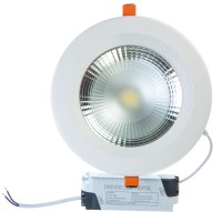 Spot LED incastrat Beta, 20W, lumina rece, 170 mm