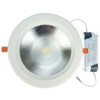 Spot LED incastrat Beta, 30W, lumina rece, 195 mm