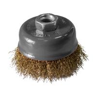Perie cupa, pentru decapare vopsea / impuritati, Lumytools LT06992, diametru 125 mm