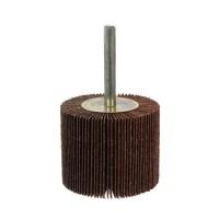 Disc lamelar, pentru slefuire lemn / metale / materiale constructii, cu tija, Carbochim, 50 x 40 x 6 mm, granulatie 120