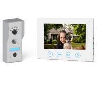 Kit videointerfon 7 inch VDPK-EAGLE-WL, infrarosu, alb