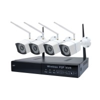 Kit NVR WiFi + 4 camere wireless PNI-WF550