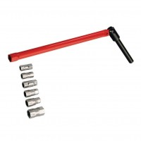 Chei tubulare, pentru spatii inguste, Rothenberger 261470, 9 - 17 mm, set 7 piese