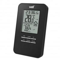 Statie meteo de interior Well Mood, LCD, temperatura, umiditate, ceas, functie alarma