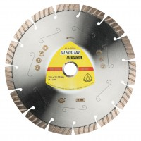Disc diamantat, cu segmente, pentru debitare materiale de constructii, Klingspor DT 900 UD Special, 230 x 22.23 x 2.6 mm