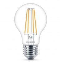 Bec LED filament Philips clasic A60 E27 8.5W 1055lm lumina neutra 4000 K