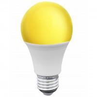 Bec LED color Hoff clasic E27 9W lumina galbena 2200 K, antiinsecte